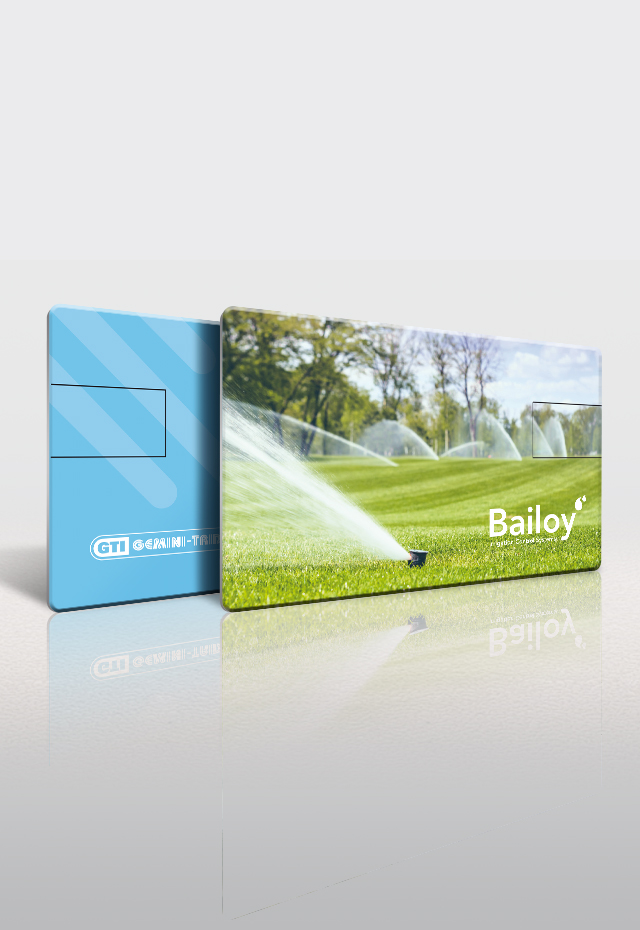 Bailoy USB Credit Card with design