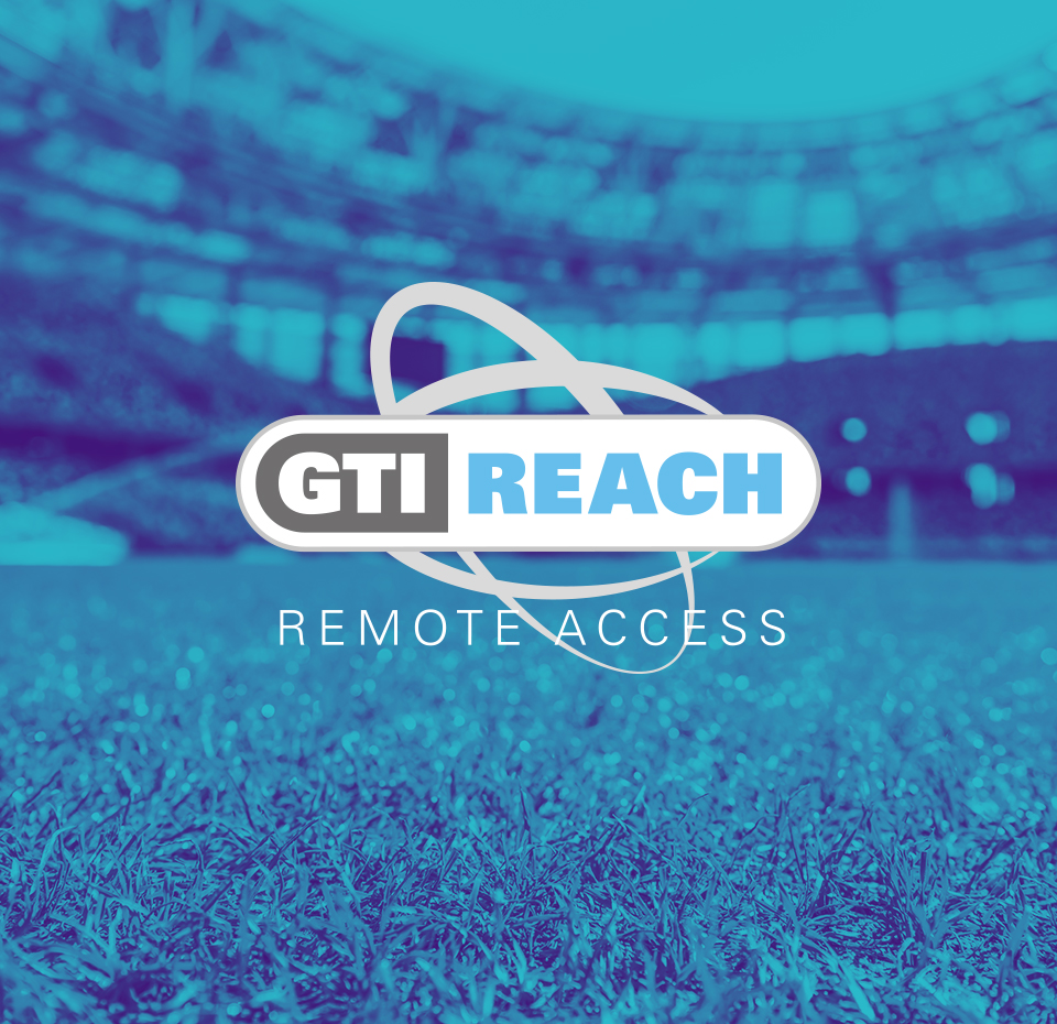 Bailoy GTI Reach logo with stadium image in background