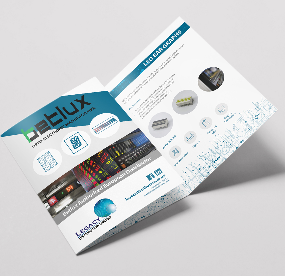 Legacy Distribution Tri-Fold promotional flyer 3