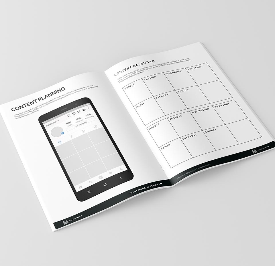 Training course workbook for Melius Media Instagram training 2