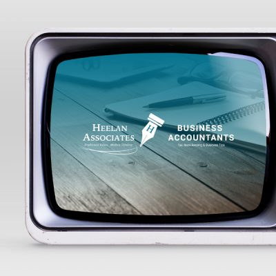 Heelan Associates Youtube Channel on a TV